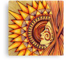 Sun Machine Canvas Print