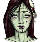 Zombie Girl by HungryDesigns