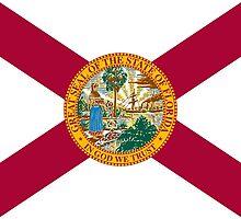 Florida State Flag South Miami Orlando Tampa by psmgop