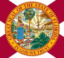 Florida State Flag South Miami Orlando Tampa Sticker