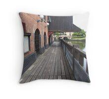 Wigan Pier Throw Pillow