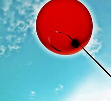 Red Balloon by Tommy Seibold
