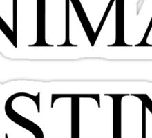 Fight Animal Testing Sticker