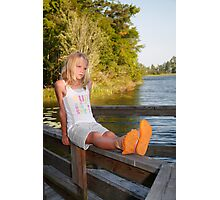 On the dock Photographic Print