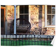 Evening on the Porch Poster