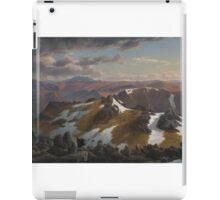 Eugene von Guerard  - Mount Townsend 1863 iPad Case/Skin