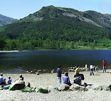 Loch Lubnaig Panorama by Mark Wilson