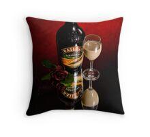 Irish Cream Throw Pillow