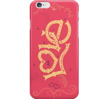 Love Hand-Lettering iPhone Case/Skin