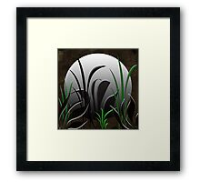 Serenity Moon Framed Print