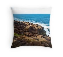 Newfoundland Coastline Throw Pillow