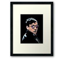 Hipster Oswald (Coloured|Black) Framed Print