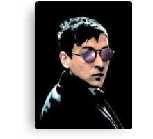 Hipster Oswald (Coloured Black) Canvas Print