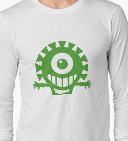 Green Cyclops  Long Sleeve T-Shirt