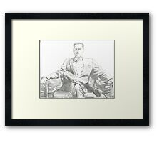 Moriarty - Andrew Scott Framed Print
