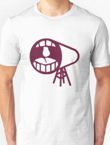 Megaphone Mouth Character Unisex T-Shirt