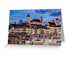 Rapperswil, Switzerland Greeting Card