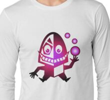 Crazy Creature with balls Long Sleeve T-Shirt