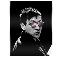 Hipster Oswald (Mono) Poster