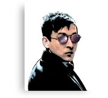 Hipster Oswald (Coloured|White) Canvas Print