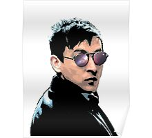Hipster Oswald (Coloured|White) Poster