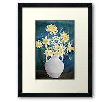 Evelyn's Daffodils Framed Print