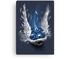 Blue Shell Attack Canvas Print