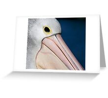 The Aussie Pelican Greeting Card
