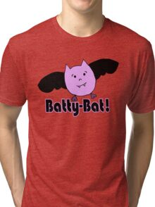Batty-Bat (1st variant) Tri-blend T-Shirt