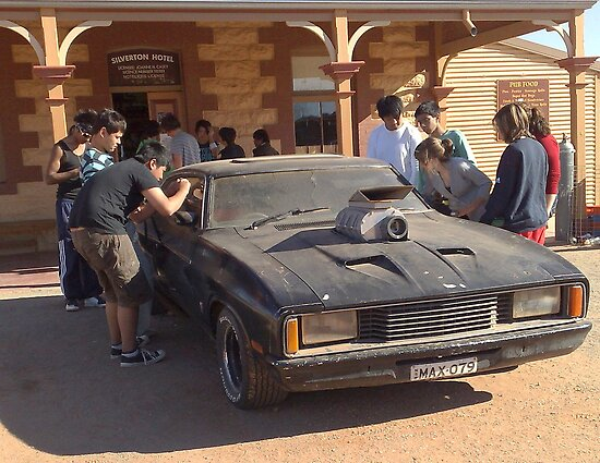 Mad Max Car  by Lesley  Hill