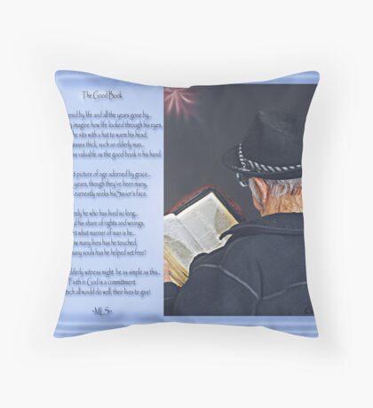 The Good Book - Collaboration Throw Pillow
