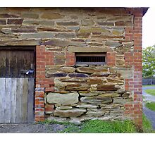 Avoca Barn Close Up Photographic Print