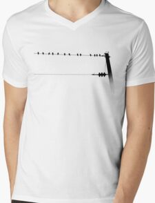 Strung Along Mens V-Neck T-Shirt