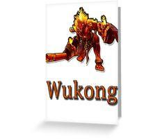 Wukong Greeting Card