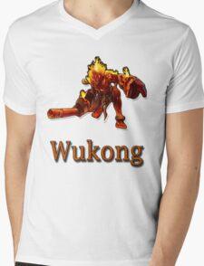 Wukong Mens V-Neck T-Shirt