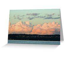 """""""Cumulous Clouds"""" Greeting Card"""