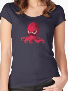 """Bubble Heroes - Boris the Octopus """"Solo"""" Edition Women's Fitted Scoop T-Shirt"""