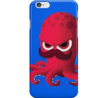 """Bubble Heroes - Boris the Octopus """"Solo"""" Edition iPhone Case/Skin"""