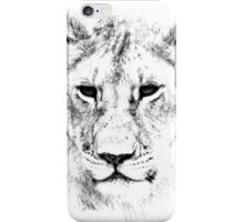 Lion Portrait iPhone Case/Skin