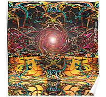 Abstract al Fresco (Comfortably Numb Placebo) Poster