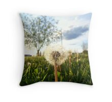 Flower to Some Weed to Others Throw Pillow