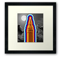 Miami Freedom Tower Cuban Liberty Downtown Brickell Framed Print