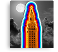 Miami Freedom Tower Cuban Liberty Downtown Brickell Canvas Print