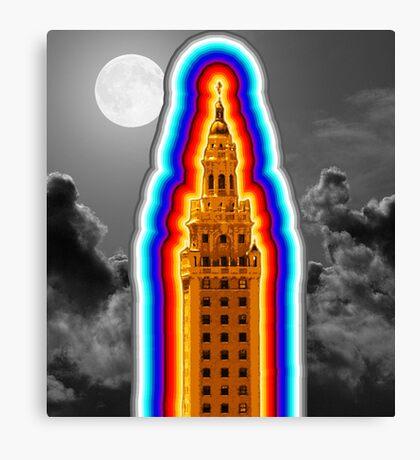 Miami Freedom Tower Cuban Liberty Downtown Brickell Canvas Print