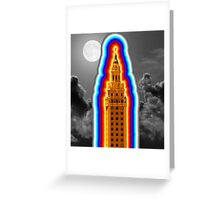 Miami Freedom Tower Cuban Liberty Downtown Brickell Greeting Card