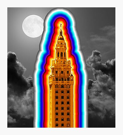 Miami Freedom Tower Cuban Liberty Downtown Brickell Photographic Print
