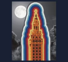 Miami Freedom Tower Cuban Liberty Downtown Brickell Kids Tee