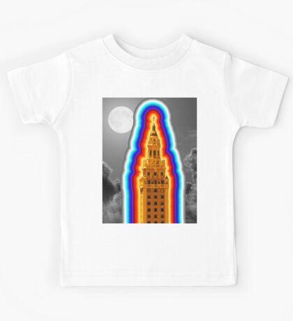 Miami Freedom Tower Cuban Liberty Downtown Brickell Kids Tee