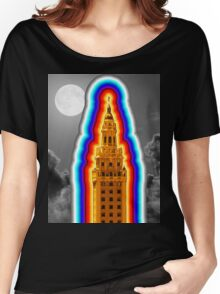 Miami Freedom Tower Cuban Liberty Downtown Brickell Women's Relaxed Fit T-Shirt