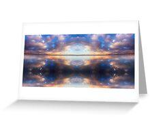 """Spiritual Flight"" © 2008 Brad Michael Moore Greeting Card"